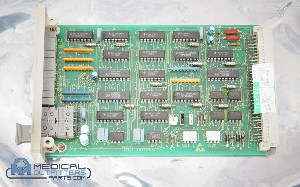 Philips MRI Polaris Diag I/F Board, PN 600-855T, 3228504