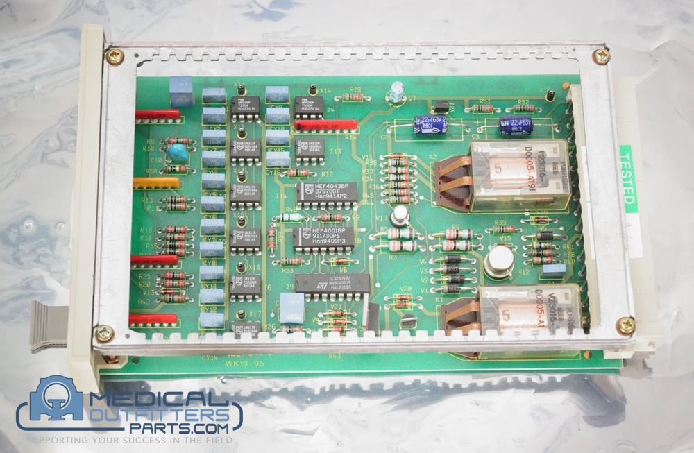 Philips MRI Polaris Safety Test PCB, PN 600-731T, 1195119