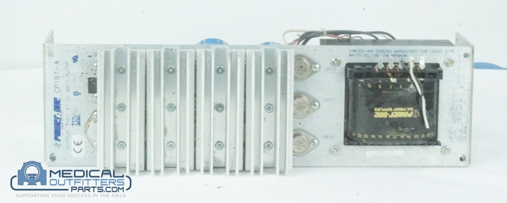 GE CT LightSpeed Power Supply, 5VDC, 50A, PN CP197-A