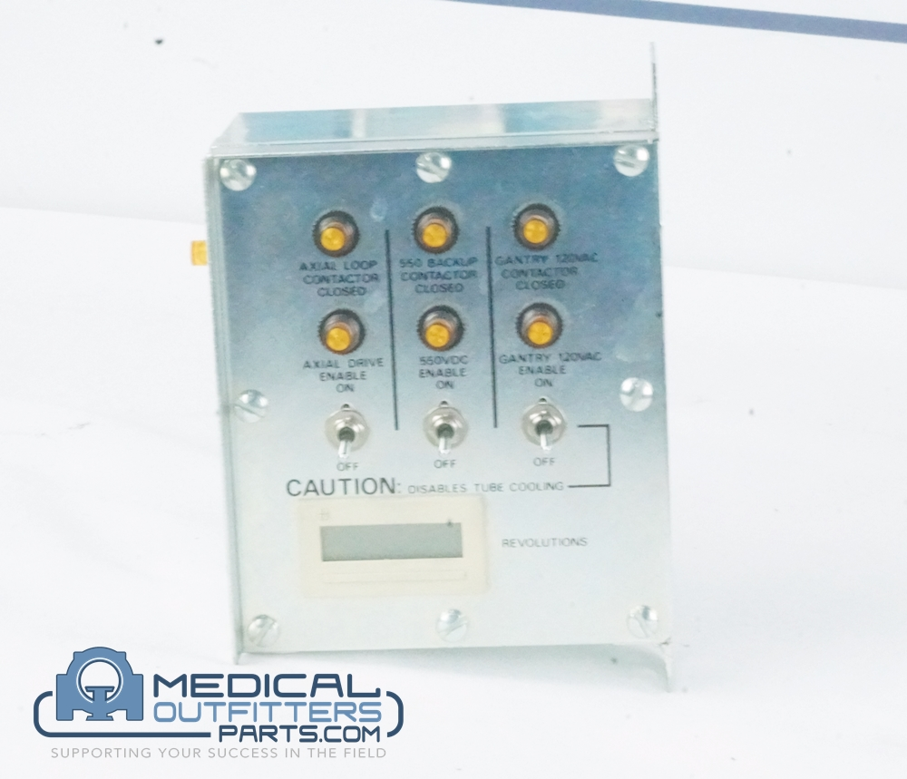 GE CT LightSpeed Service Switch Box Assembly, PN 2112444