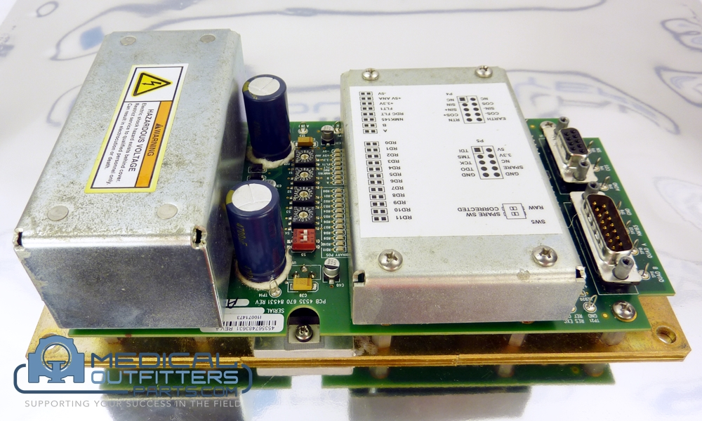 Philips CT Brillance Power Supply R2D Assy, PN 453567483631