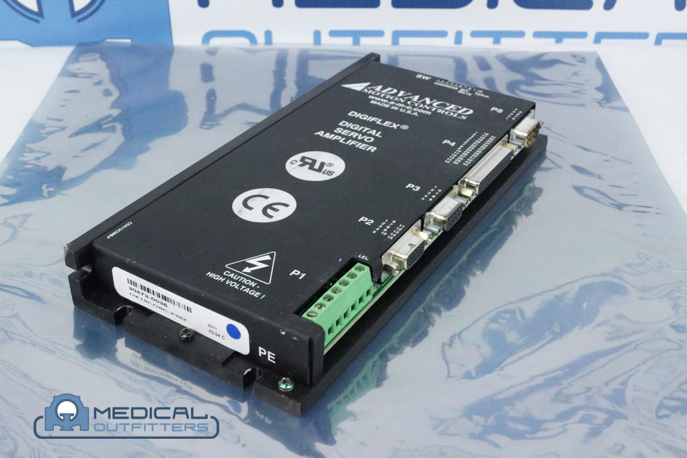 Advanced Motion Control Digital Servo Amplifier, DX15CO8E-PM1, PN 453560492281