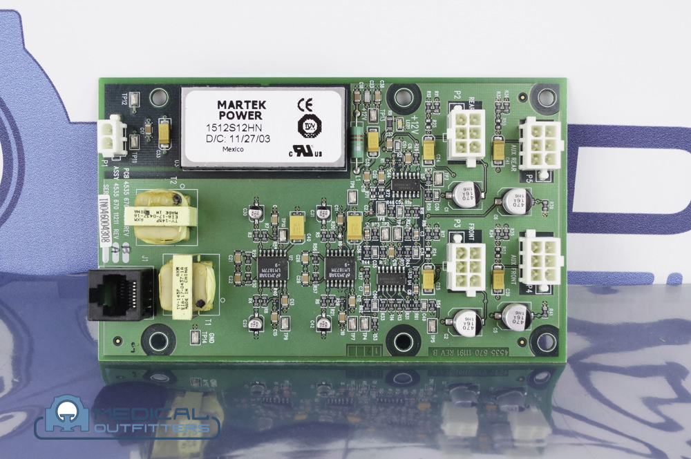 Philips CT Gemini 4CH. Audio Board, PN 453567011211