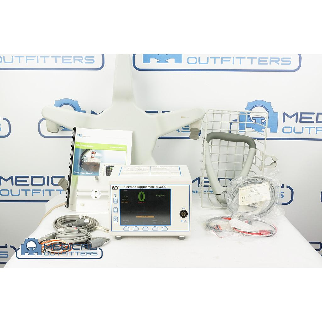 IVY Biomedical Cardiac Trigger 3000 with Accessories for Gemini PETCT, PN 453567976141