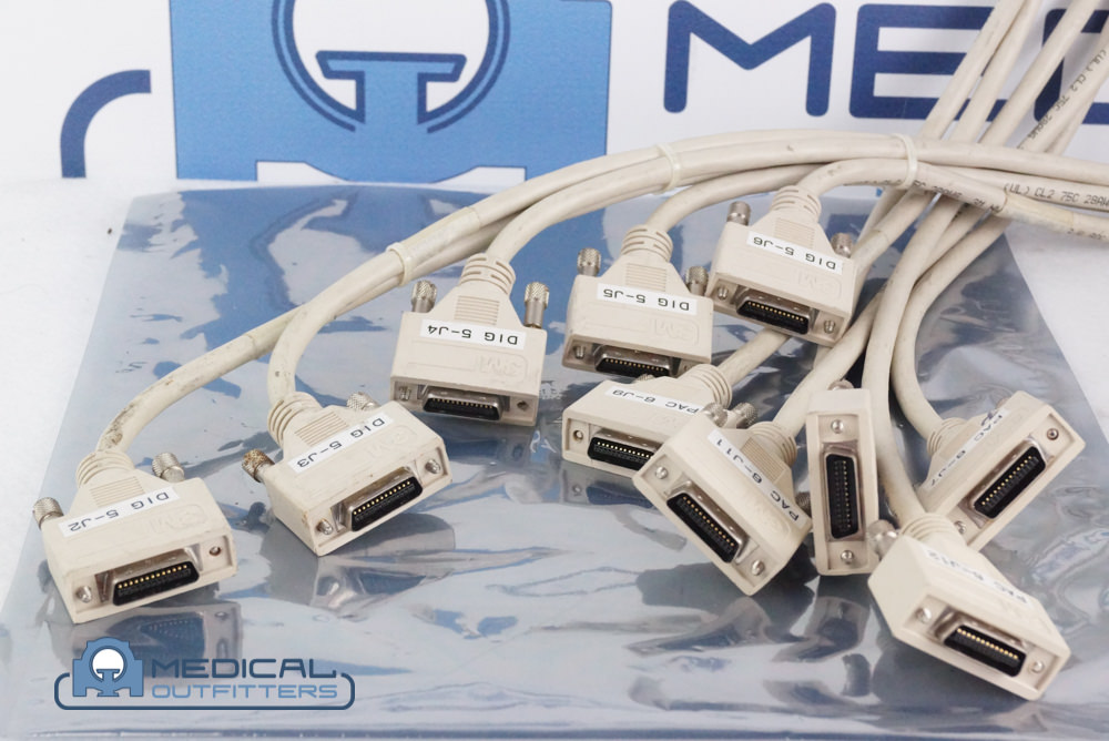 Philips PET/CT Cable 3M PMT to PAC 0 to 59, Assy, PN 453567978751, 453567978761, 453567978771, 453567978781, 453567978791, 453567978801