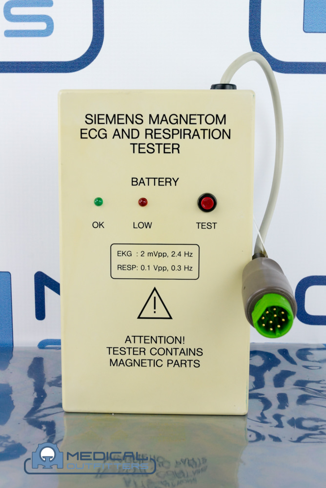 Siemens ECG and Respiration Tester Device, PN 8428468