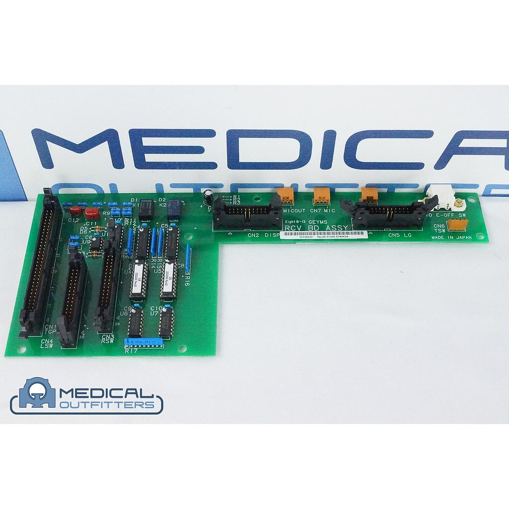 GE HiSpeed CT RCV Board Assy, PN 2156522