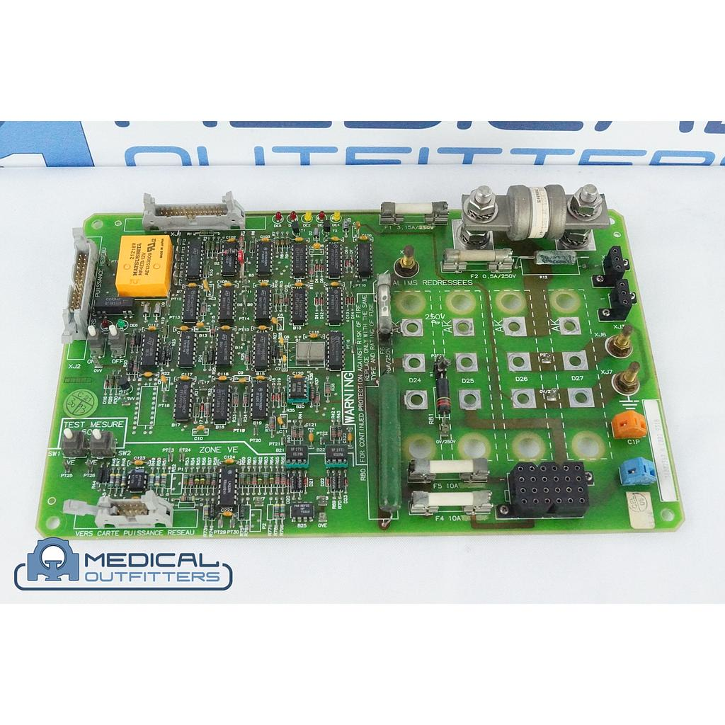 GE Senographe DMR MAMMO 200PL Supply Command Board, PN 36002367