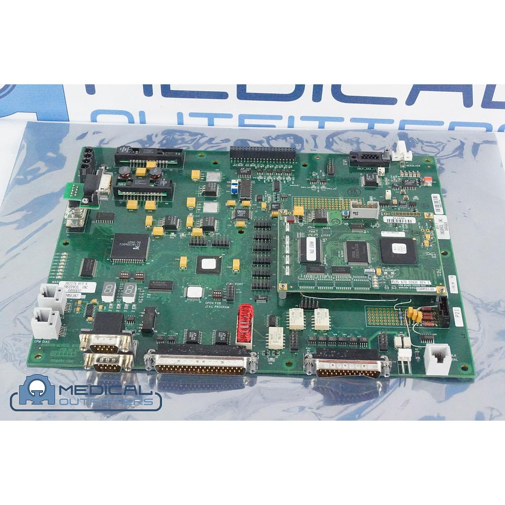 Philips PET/CT Gemini  MHOST PCB Assembly with CPM PCB, PN 453567023581, 453567033831