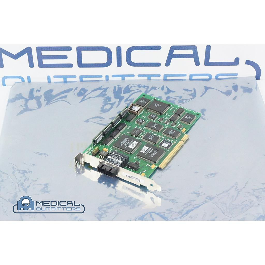 Philips PET/CT Allegro SunBlade Ultra5 Acquisition Fiber Optic Communication Board