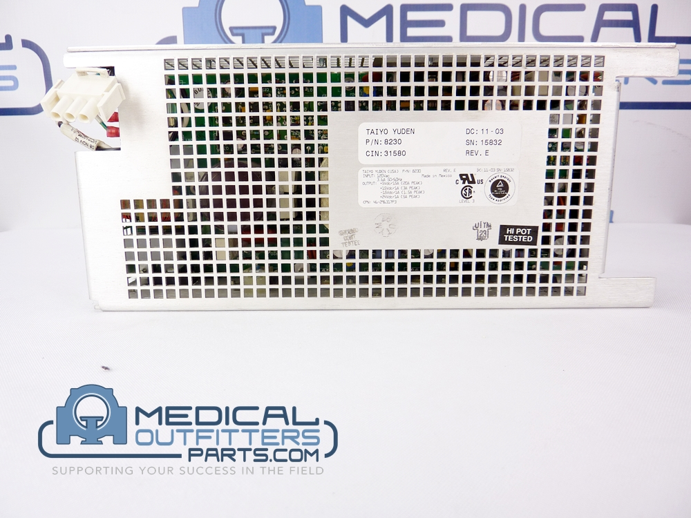GE LightSpeed OBC-STC Power Supply, PN 46-296317P3