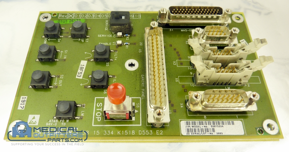 Siemens Emotion Connect D553 Board, PN 3815334