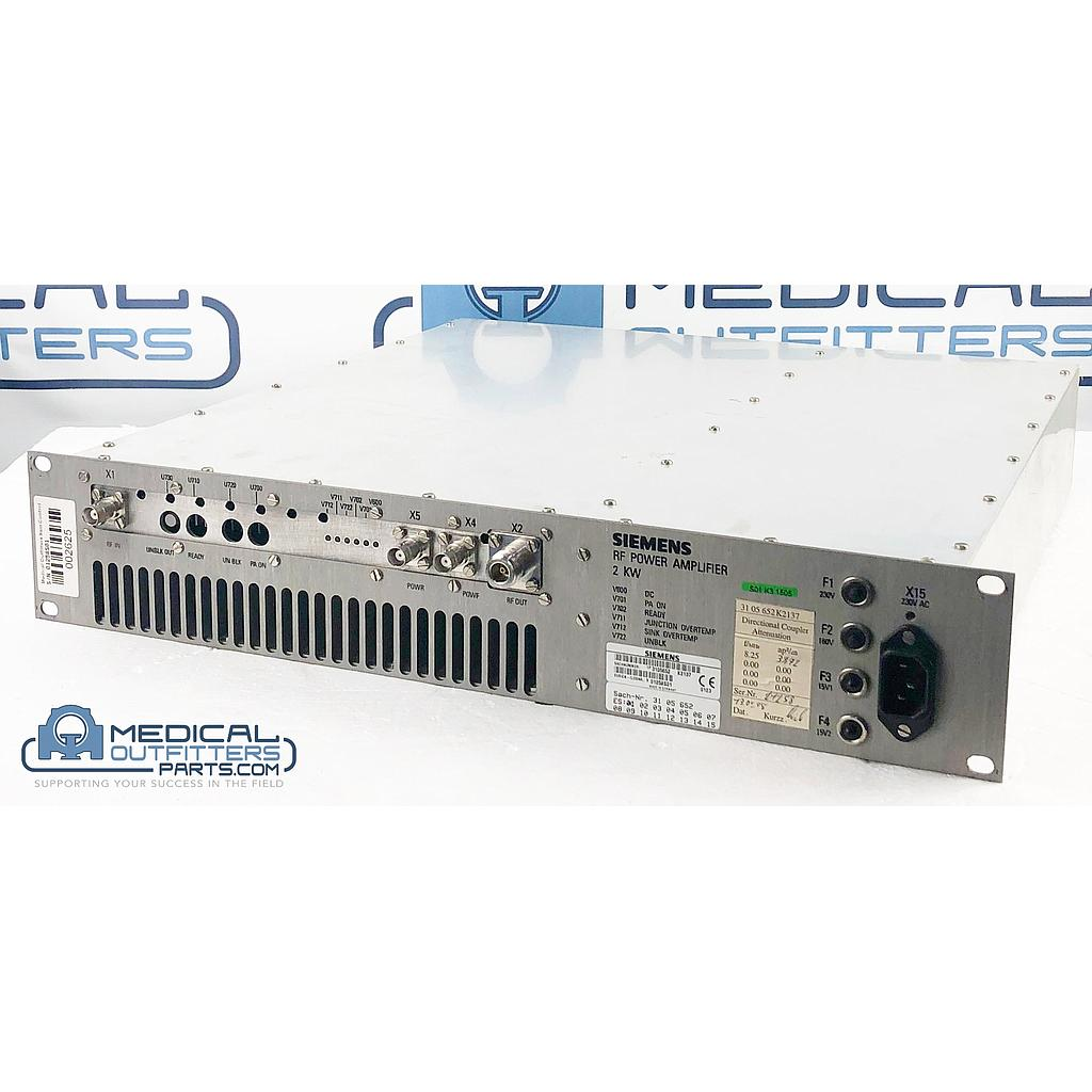 Siemens MRI Gradient Cabinet CPL RF Power Amplifier E6-2, PN 3105652, 7383339