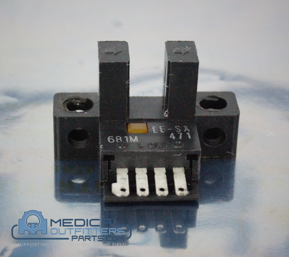 Omron Optical Switches, Transmissive, Phototransistor Output L-Shape Light ON, PN EE-SX471