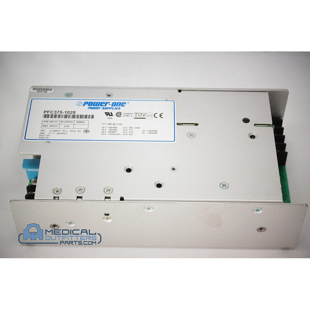 Philips MRI 1.5T Infinion Power One Power Supply 85-250VAC, 50/60Hz, 6.0A 453566432761, PN PFC375-1028