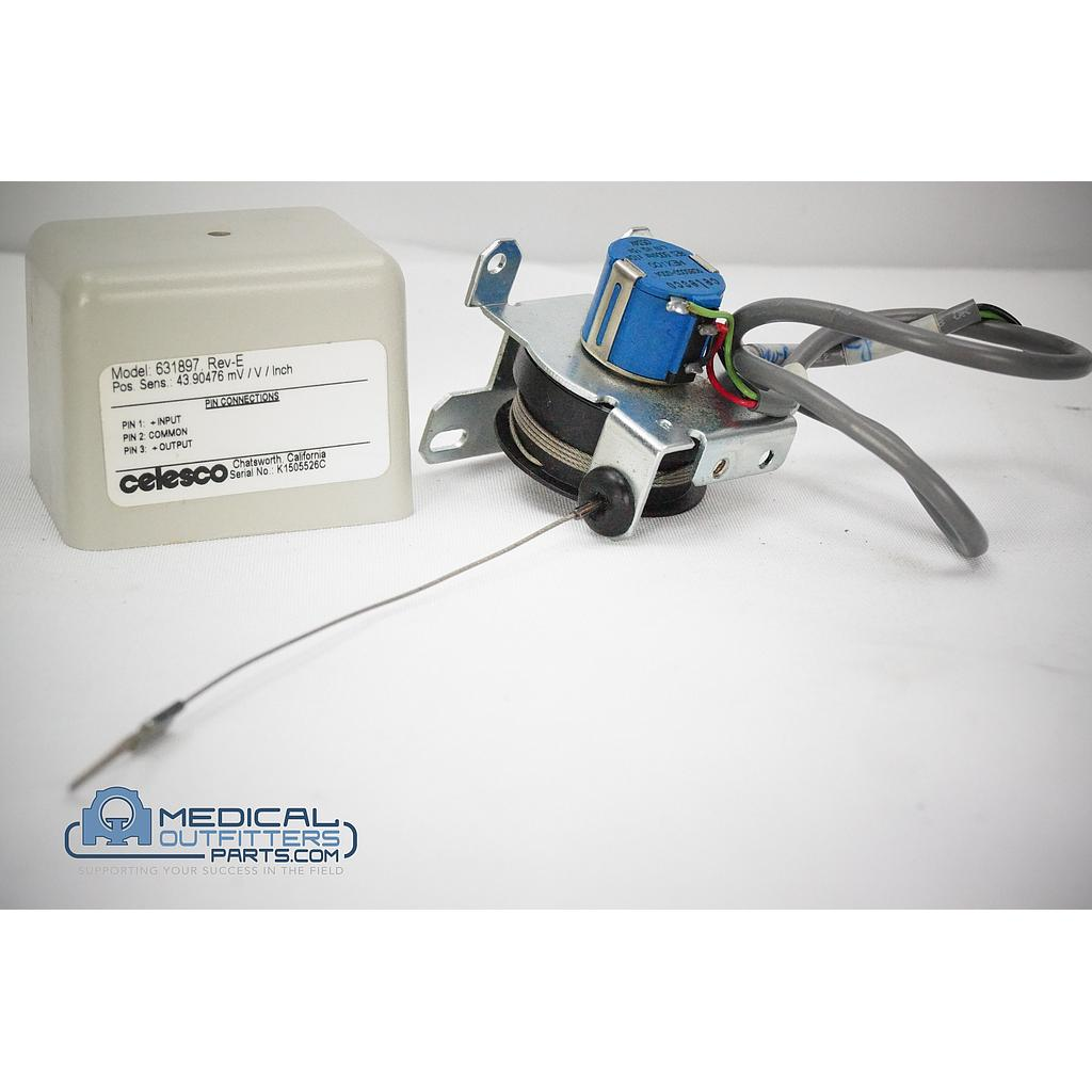 Philips CT Vertical Transducer, PN 459800623331