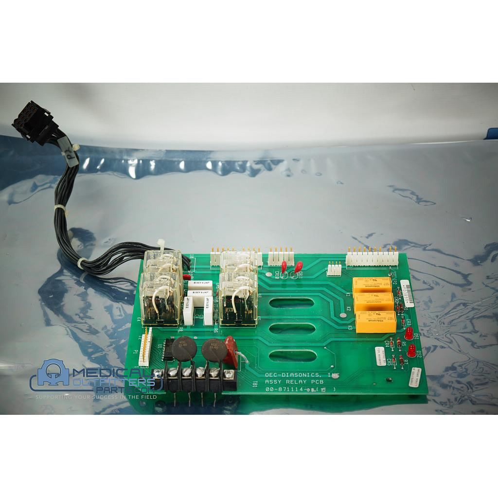 OEC 9000 C-ARM Assy Relay PCB, PN 00-871114-02