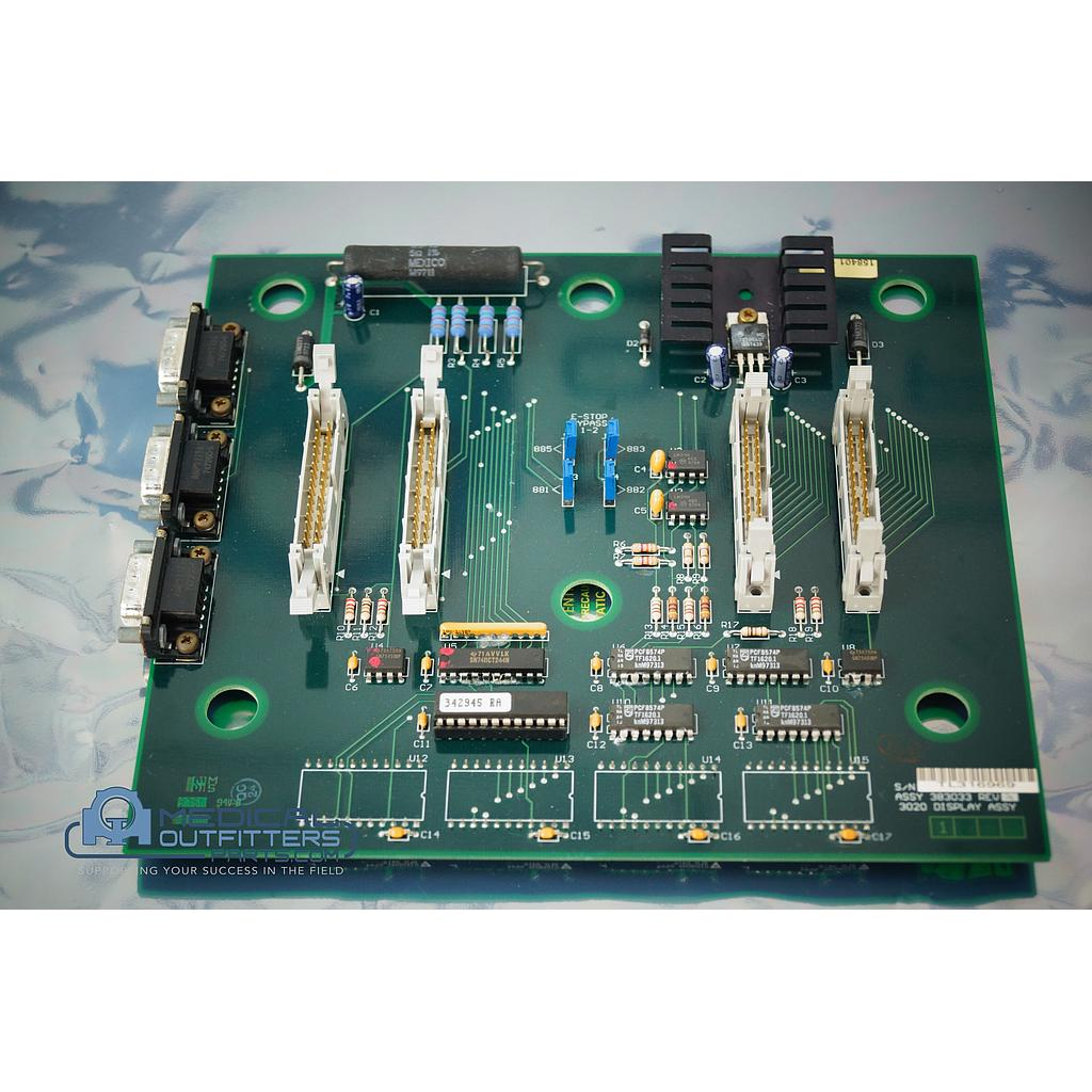 Picker MRI Polaris 3020 Display Panel PCB Assy, PN 383033