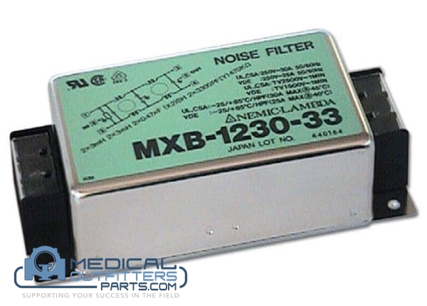 GE CT HiSpeed Noise Filter, PN 2201870, MBX-1230-33