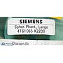 Siemens MRI Symphony Spherical Phantom Large, PN 4761065