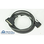 GE PET/CT Small Computer System Interface Cable VHD68 to CENT 50 LINUX, PN 2324697-2